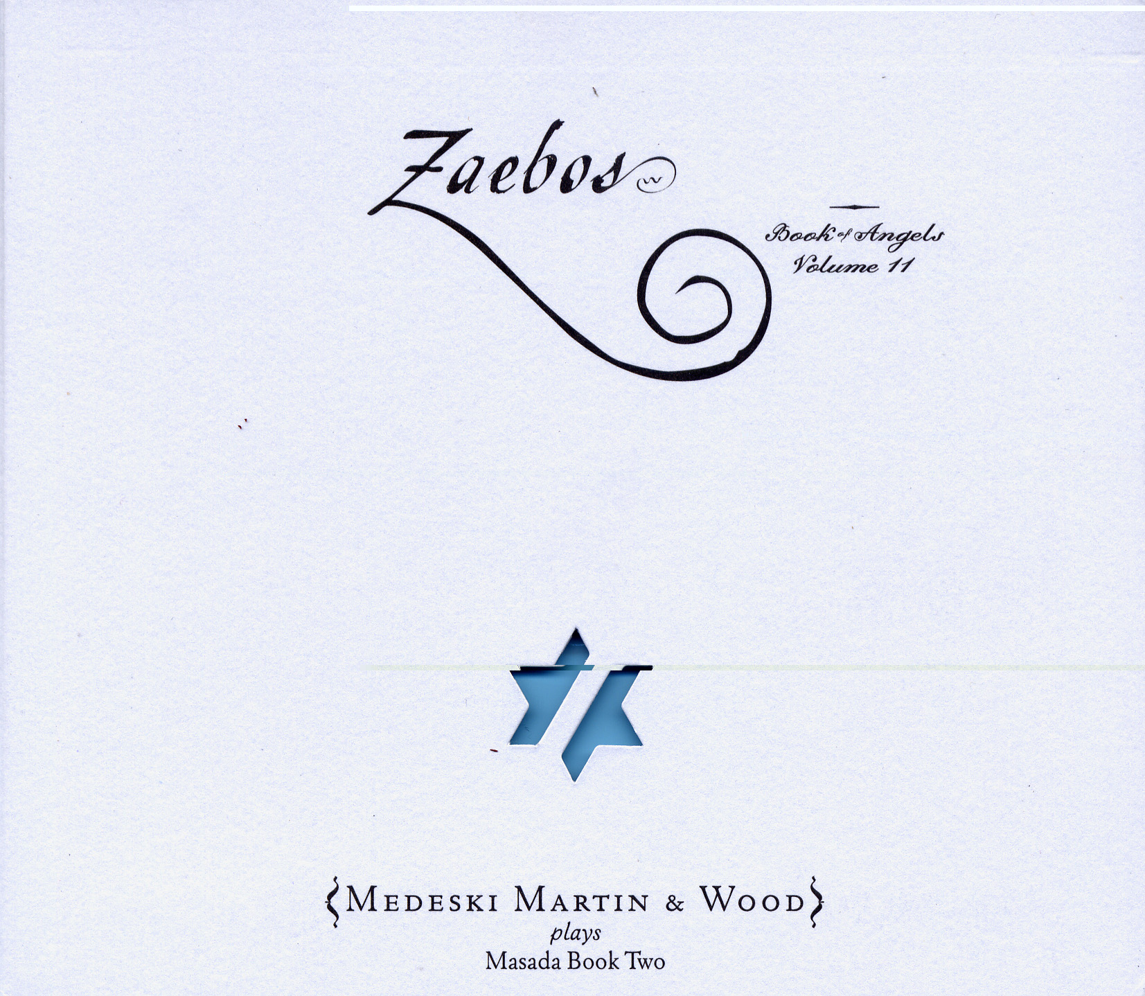 Medeski Martin & Wood - Zaebos  Book of Angels Vol.11.jpg