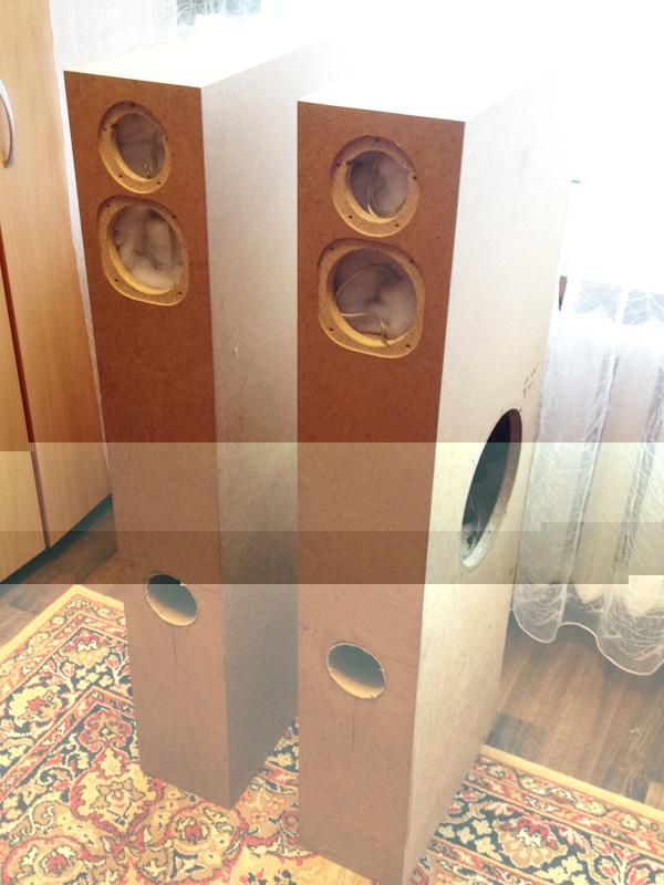 Напольная двухполосная акустика