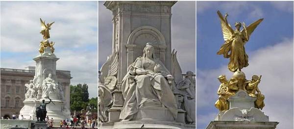 Посещая букингемский дворец, невозможно не заметить роскошный монумент, посвященный королеве виктории